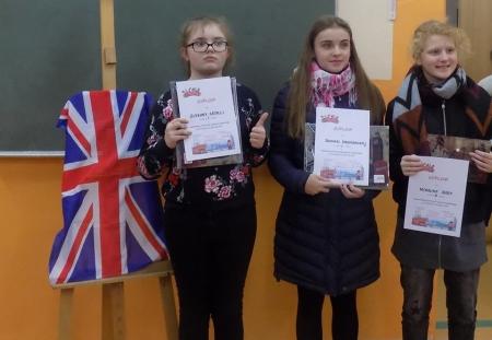 Powiatowy Konkurs Języka Angielskiego ,,Czytajmy po angielsku''