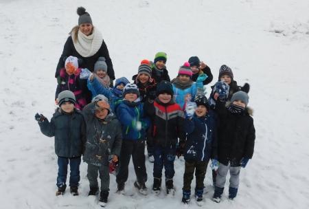 Styczniowe wątki śnieżne klas 0 - VII