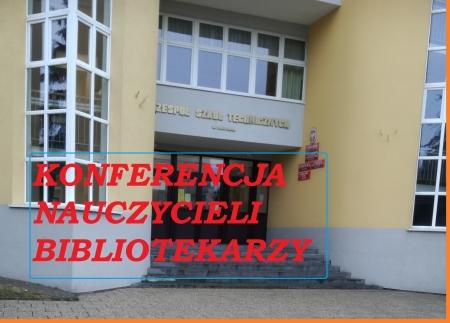 Konferencja nauczycieli bibliotekarzy