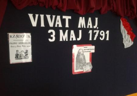 Apel szkolny z okazji uchwalenia Konstytucji 3 maja