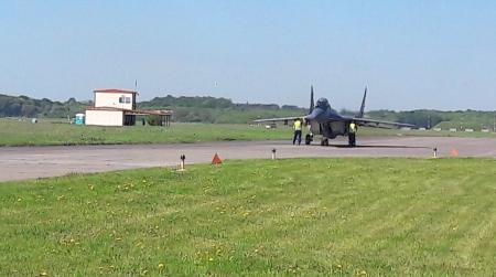 Wycieczka na malborskie lotnisko klas IV d i III b