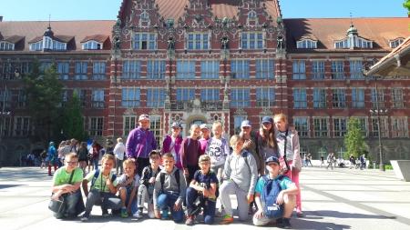 Wycieczka klasy IV d na Politechnikę Gdańską