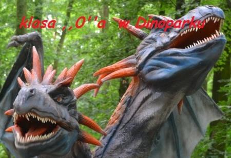 Wycieczka klasy ,,0''a do Dinoparku