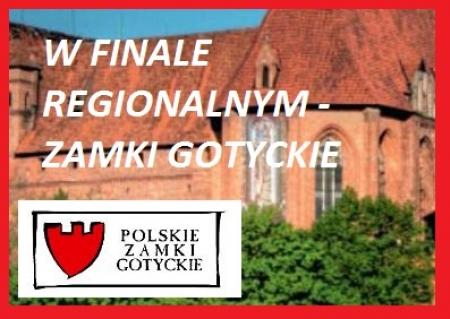 Finalistą konkursu wiedzy o zamkach gotyckich w etapie międzywojewódzkim zost