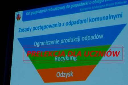 """""""Od gospodarki rabunkowej do gospodarki o obiegu zamkniętym"""" - prelekcja dl"""