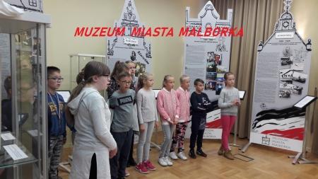 Piątoklasiści w Muzeum Miasta Malborka