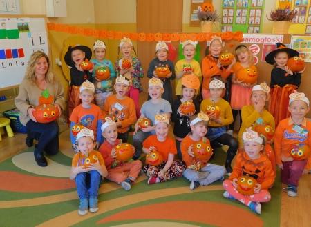 Święto dyni, czyli piknik pomarańczowy w klasie ,,0''
