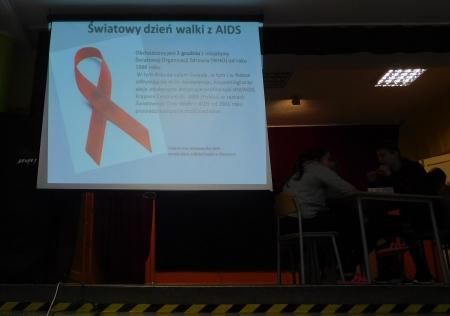 Szkolny konkurs wiedzy o AIDS i HIV