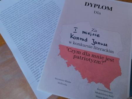 Konrad Janusz triumfatorem Konkursu Literackiego !