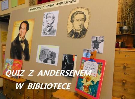 Znajomość Baśni Andersena - Międzyklasowy Quiz Czytelniczy w bibliotece