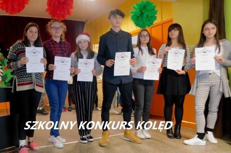 Szkolny Konkurs Kolęd i Pastorałek klas IV-VIII