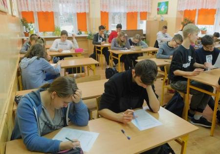 Zajęcia z doradcą zawodowym w klasach ósmych