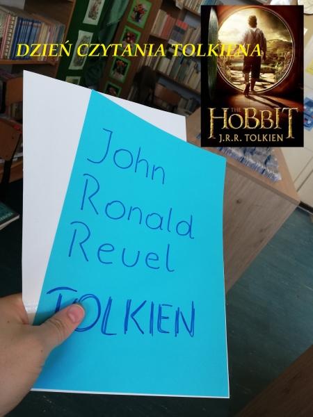 Biblioteczny ,,Dzień czytania Tolkiena''