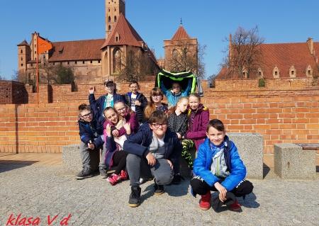 Zajęcia edukacyjne klasy V d na zamku