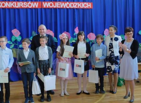 Wiceprezydent Gdańska nagrodził laureatów wojewódzkiego konkursu matematyczn