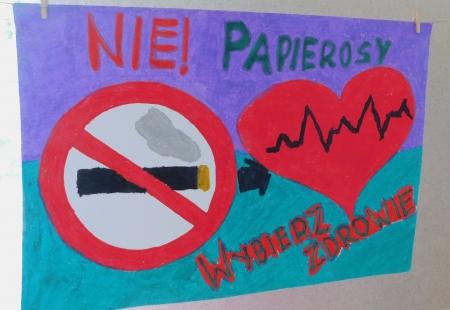 Konkurs plastyczny ''Wybierz zdrowie-nie papierosy