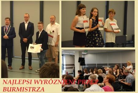 Najlepsi z najlepszych z nagrodą u Burmistrza Malborka