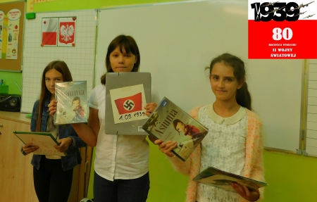 Akcja czytelnicza - 80 rocznica najazdu Niemiec hitlerowskich i Rosji sowieckiej