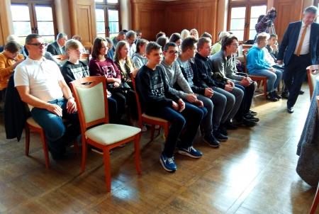 VIII a na sesji Rady Miasta Malborka