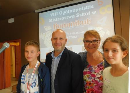 Uczestniczyliśmy w Mistrzostwach Polski w Rummikub w Sztumie