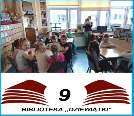 ,,Zerówkowicze'' z wizytą w bibliotece szkolnej