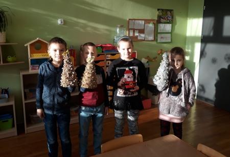 Ozdoby ze świetlicy dla uczniów SOSW i Przedszkola nr 5