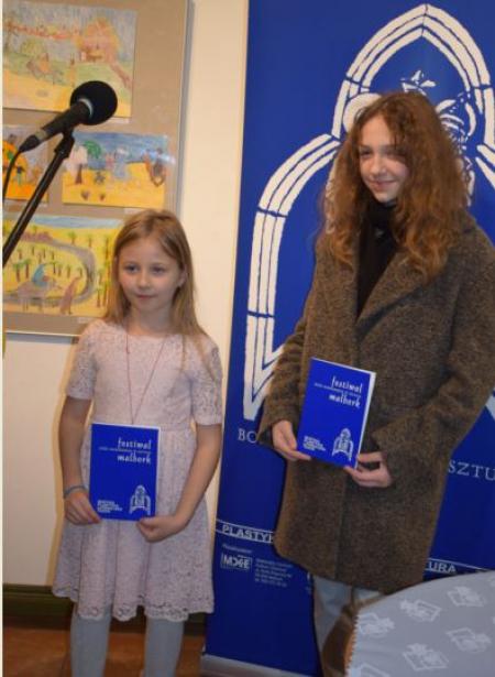 Nagrody w konkursie plastycznym - Boże Narodzenie w Sztuce