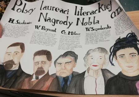 Nasi ,,Nobliści'' z literatury – biblioteczny konkurs czytelniczy