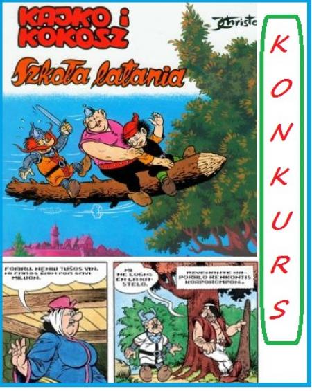 Pierwsze konkursowe prace - ,,Z komiksem za pan brat''