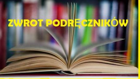 Zwrot podręczników i książek do biblioteki szkolnej