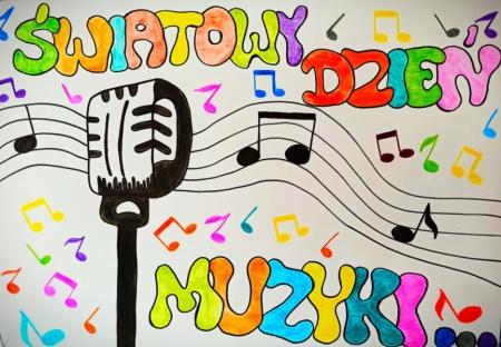 Konkurs na Światowy Dzień Muzyki
