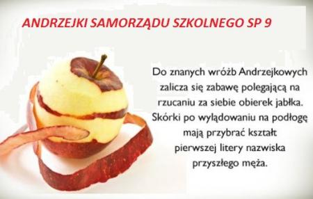 (Zdalne) Andrzejki Samorządu Szkolnego