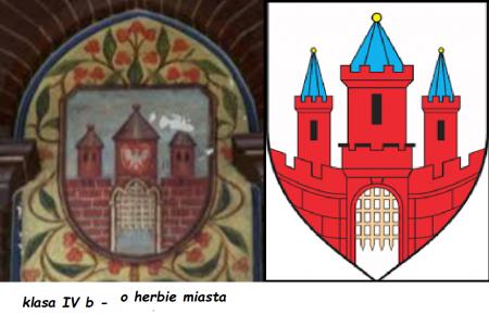 IV b - o herbie miasta Malborka