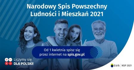Narodowy Spis Powszechny Ludności i Mieszkań w 2021 r.