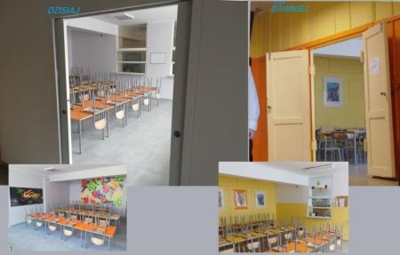 W wakacje zakończył się remont szkolnej stołówki