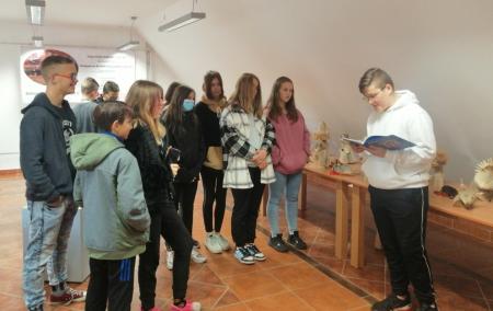 Wyjścia do malborskich miejsc kultury klasy VIII C